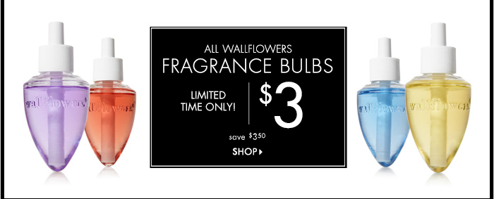 Wallflowers Fragrance Bulbs - $3
