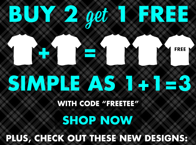 Buy 2 Get 1 Free - Plus 6 New Designs!