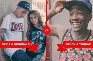 GODS and Generals VS. Spool & Thread