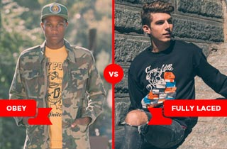 Obey VS. Fully Laced