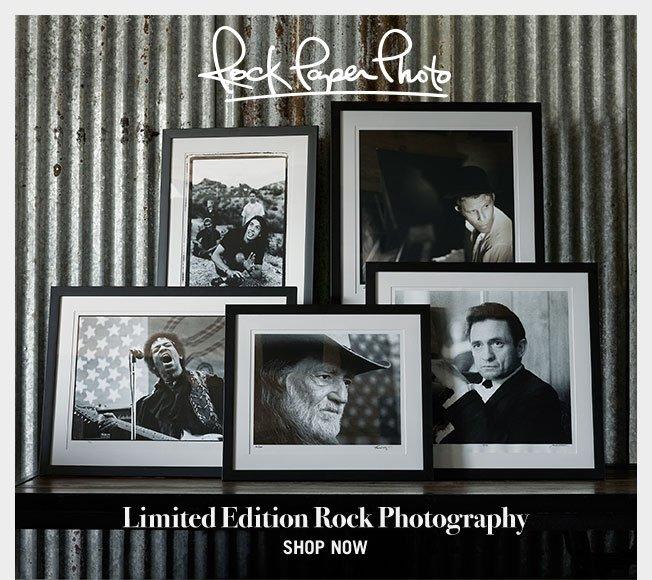 Shop Rock Memorabilia - Rock Paper Photo & More