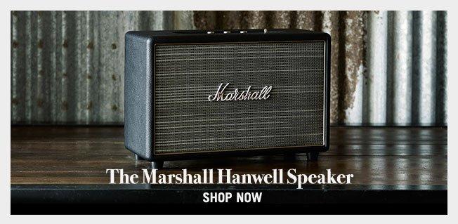 The Marshall Hanwell Speaker