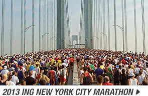 2013 ING New York City Marathon - Promo C