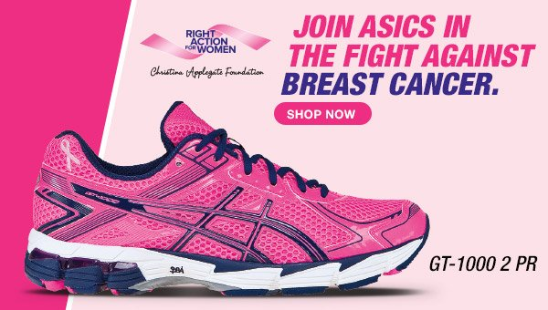 Shop the Breast Cancer Awareness Shoes - Hero