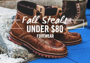 Shop Fall Steals Under $80: Footwear