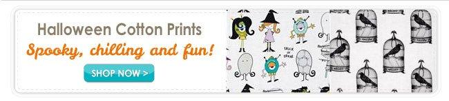 Halloween Cotton Prints