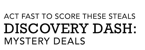 Discovery Dash: Mystery Deals