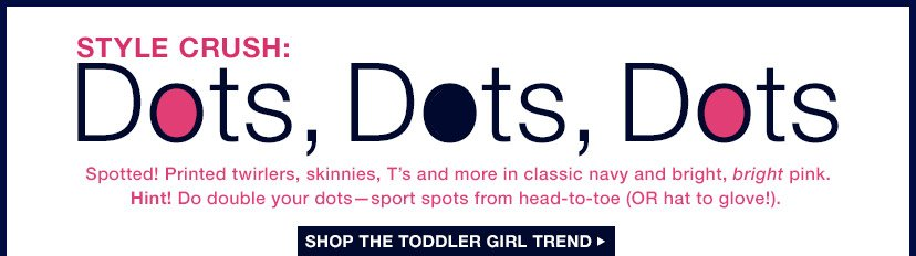 STYLE CRUSH: Dots, Dots, Dots | SHOP THE TODDLER GIRL TREND