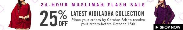 Hari Raya Aidiladha sale - 25% off!