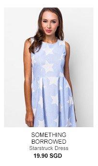 SOMETHING BORROWED Starstruck Dress