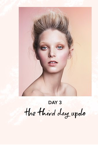 Day 3: the third day updo