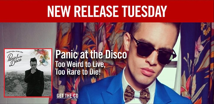 NEW RELEASE TUESDAY - PANIC AT THE DISCO