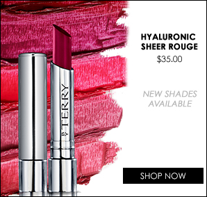 Hyaluronic Sheer Rouge, $35