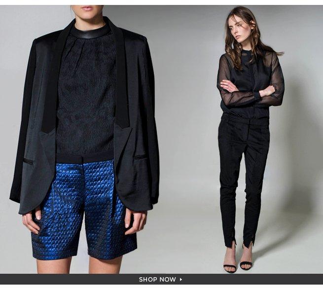 The Tuxedo: An Eternally Chic Closet Staple. Shop Now>