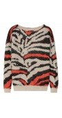 Dauville Patterned Knitted Sweater