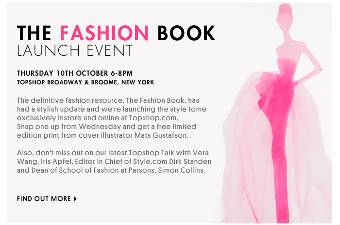 THE FASHION BOOK LAUNCH EVENT - Find Out More