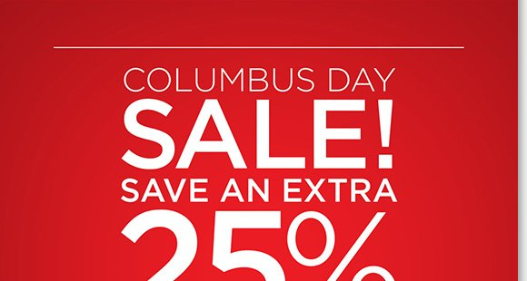 Columbus Day savings begins! Save on a great selection of styles from Dansko, ECCO, Raffini, UGG® Australia, ABEO and more, ALL Sale & Clearance now an extra 25% off!* Find the best selection when you shop online and in-stores at The Walking Company.
