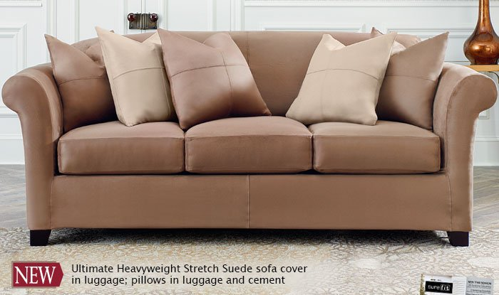 Ultimate Heavyweight Stretch Suede
