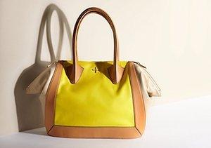 The Two-Tone Trend: Handbags