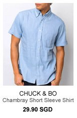 Chuck and Bo Chambray Shirt