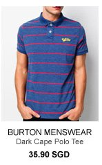 Burton Dark Cape Polo Tee