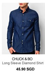 Chuck and Bo Lonng Sleeve Diamond Shirt