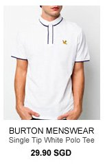 Burton White Polo Tee