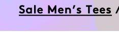 sale men's tees