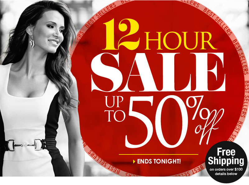 12 Hour SALE: Up to 50% OFF Best Sellers! Hurry, Ends Tonight! SHOP NOW
