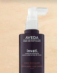 use me 2x a day. shop invati scalp revitalizer.