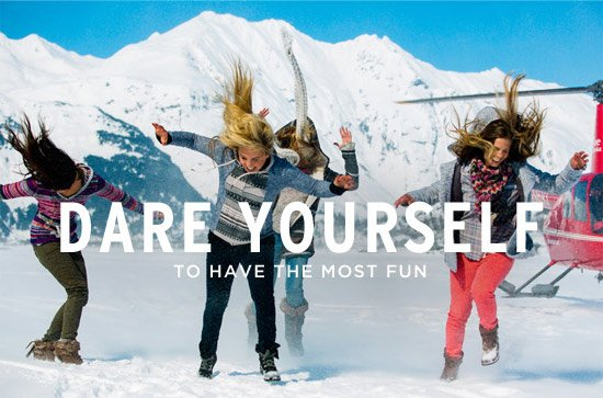 Dare yourself to have the most fun