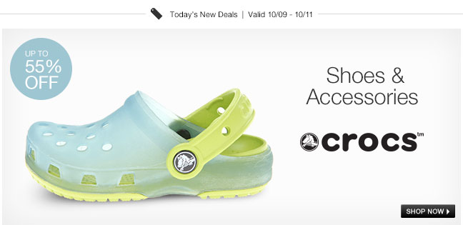 Crocs Shoes and Accessories