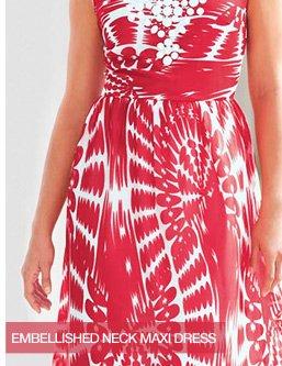 Shop the Neck Maxi Dress