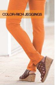 Color-rich Jeggings