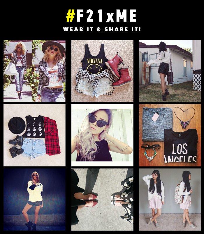 F21xME - Wear it & Share it!