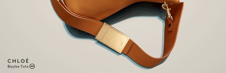 The new Chloé Baylee tote: Shop now.