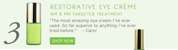 #3: Restorative Eye Creme, Shop Now