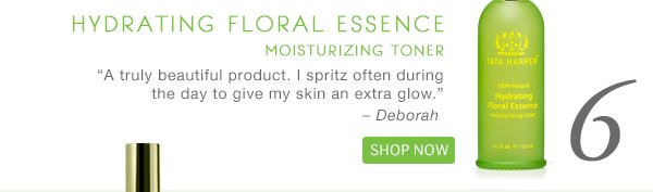 #6: Hydrating Floral Essence, Shop Now