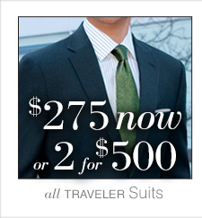 $275 USD now or 2 for $500 USD - Traveler Suits