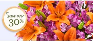 Deal of the Week Autumn Rose & Peruvian Lily Bouquet + Free Vase, just $29.99**  Save Over 30%! Shop Now