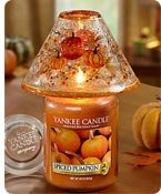 Yankee Candle® Spine Pumpkin Candle and  Shade Set