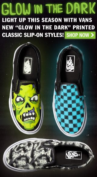 Shop New Glow in the Dark Vans!