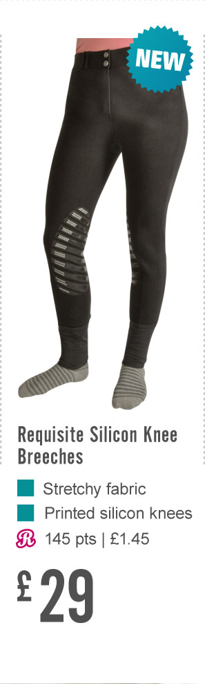 Requisite Silicon Knee Breeches (Earn 145 Rider Reward points)