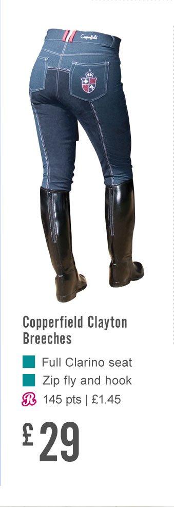 Copperfield Clayton Breeches (Earn 145 Rider Reward points)