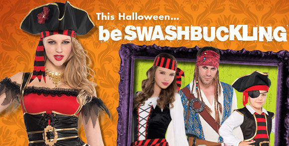 This Halloween... be SWASHBUCKLING