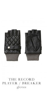 THE RECORD PLAYER / BREAKER gloves