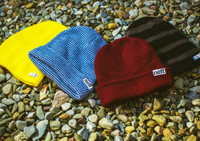 Shop New Beanies & More ft. Neff