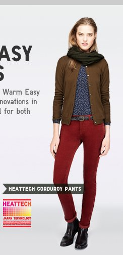 WOMEN'S HEATTECH CORDUROY
