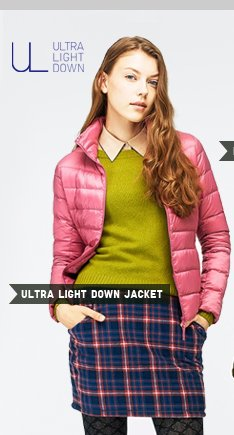 WOMEN'S ULTRA LIGHT DOWN