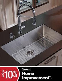 Extra 10% off Select Home Improvement**